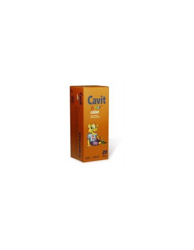 Cavit Junior Caise x 20 tb. masticabile