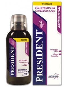 President Antibacterial Apa de gura 250ml