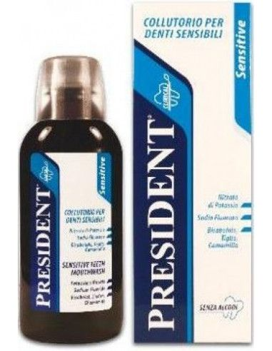 President Sensitive Apa de gura x 250ml