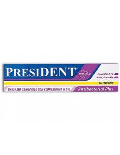 President Antibacterial Plus gel gingival cu clorhexidina 0,5% 30ml