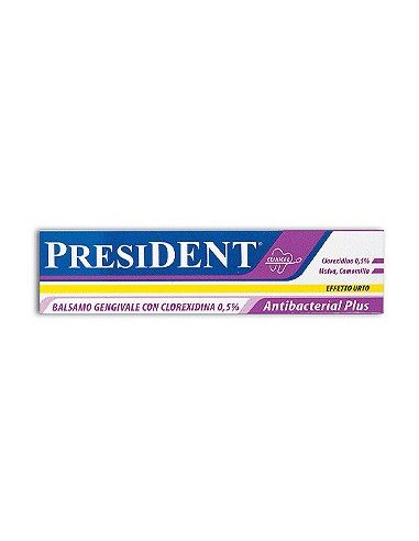 President Antibacterial Plus gel gingival cu clorhexidina 0,5% 30ml