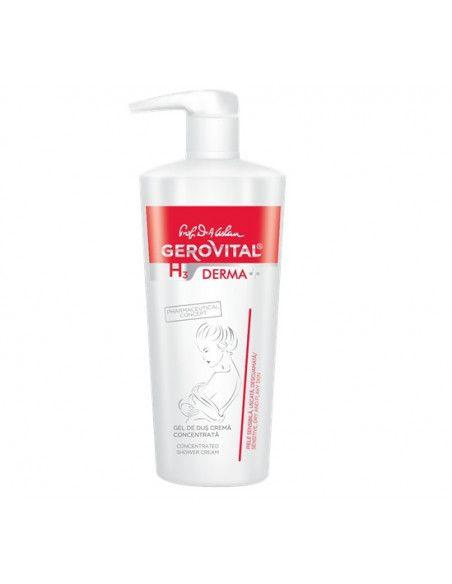 Gerovital H3 Derma+ Gel de dus crema concentrata x 500ml