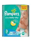 Pampers 3 Giant Pack x 90 buc
