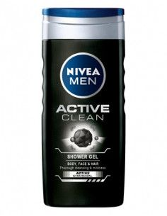 Nivea Men Gel de dus Active Clean x 500ml