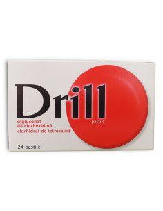 Drill pentru gatul inflamat x 24 pastile de supt