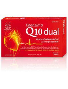 Coenzima Q10 Dual 60mg x 30 capsule