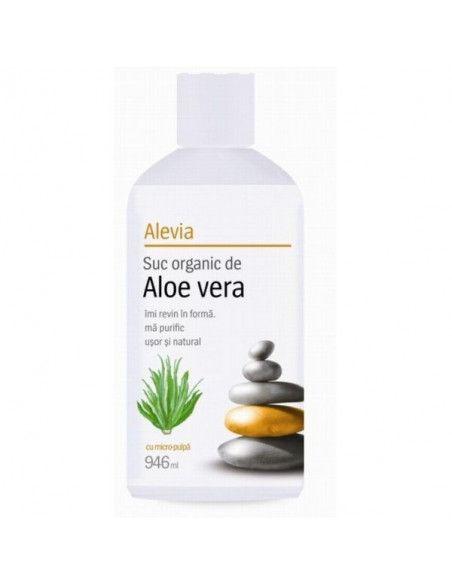 Aloe Vera Suc organic x 946ml (Alevia)