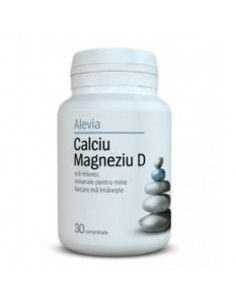 Calciu Magneziu D x 30 comprimate (Alevia)