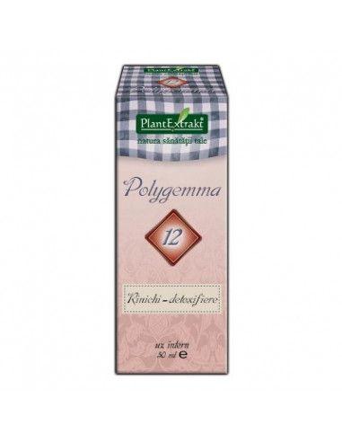 PlantExtrakt Polygemma 12 (rinichi-detoxifiere) x 50ml