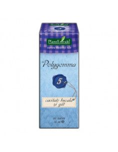 PlantExtrakt Polygemma 5 (cavitate bucala si gat) x 50 ml