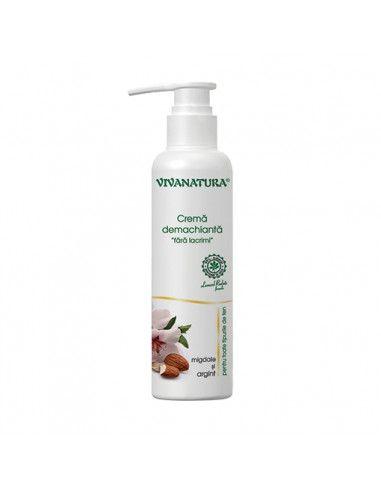 """VivaNatura Crema demachianta """" fara lacrimi """" x 145 ml"""