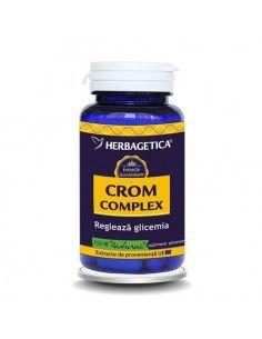 Herbagetica Crom Complex x 60 de capsule