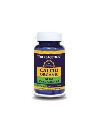 Herbagetica Calciu Organic x 60 capsule