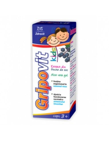 Gripovit Kids sirop 3+ x 150 ml