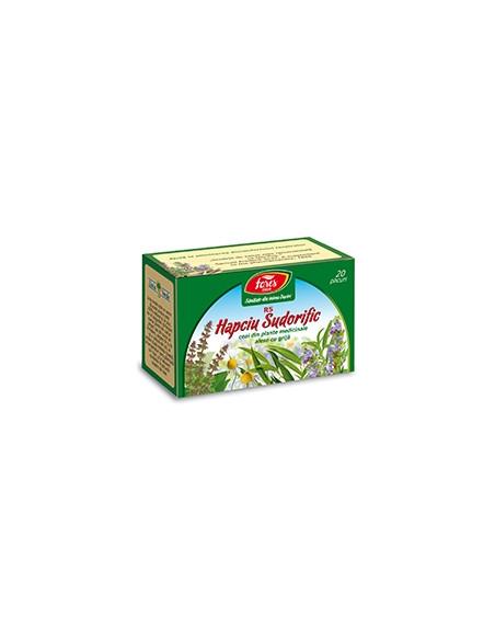 Ceai Hapciu sudorific R5 20 de plicuri FARES