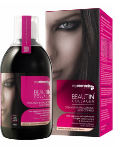 Beautin Collagen Lichid Capsuni-Vanilie 500 ml