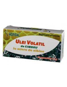 Hofigal Ulei volatil de cimbru in miere de albine 30 monodoze Hofigal