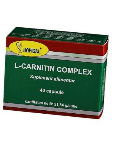 L-Carnitin Complex x 40 capsule