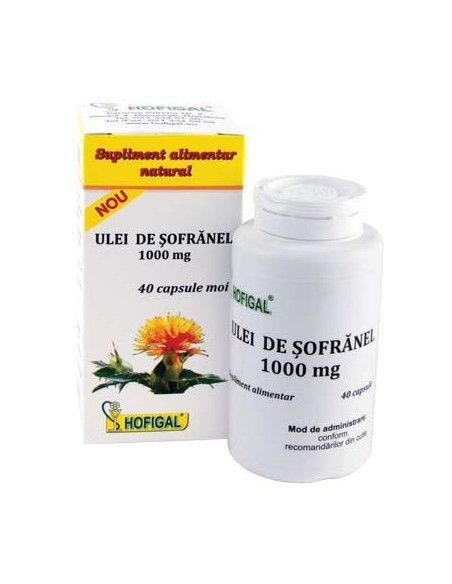 Hofigal Ulei de Sofranel 1000 mg x 40 de capsule