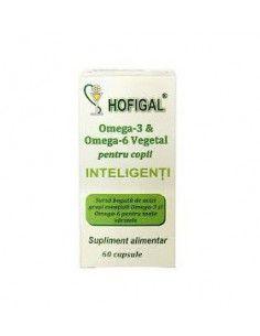 Hofigal Omega 3-6 Vegetal pentru copii x 60 de capsule