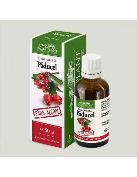 Dacia Plant Paducel tinctura fara alcool x 50 ml