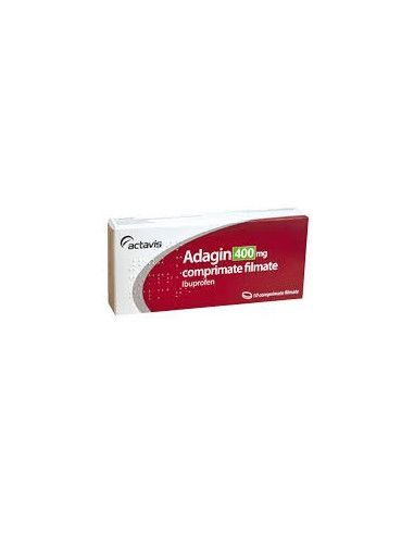 Adagin 400mg x 10comprimate