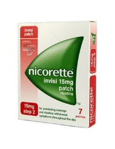 Nicorette Clear Patch 15mg/16 h x 7 plasturi transdermici