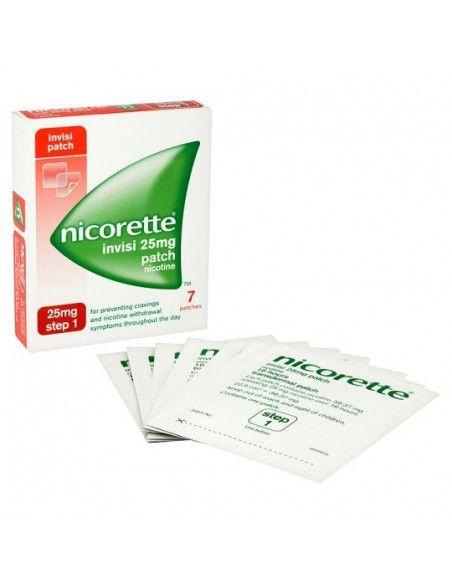 Nicorette Clear Patch 25mg/16h x 7 plasturi transdermici