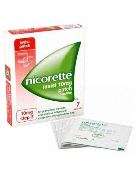 Nicorette Clear Patch 10mg/16h x 7 plasturi transdermici