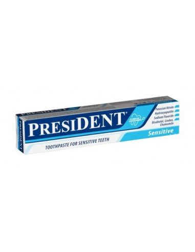 President Pasta de dinti Sensitive x 75 ml