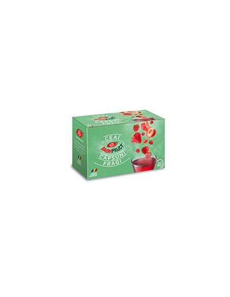 Ceai Aromfruct Capsuni si Fragi 20 de plicuri FARES