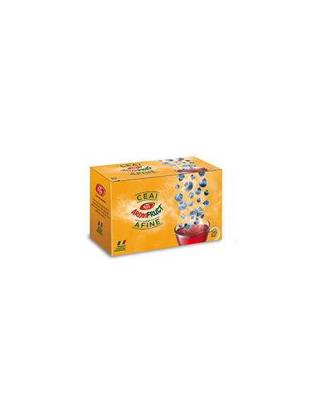 Ceai Aromfruct Afine 20 de plicuri FARES