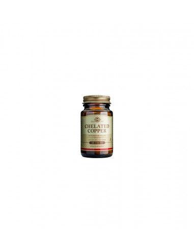 Solgar Cupru Chelat 2,5 mg x 100 de tablete.