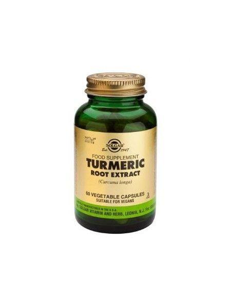 Solgar extract din radacina de turmeric x 60 de capsule vegetale