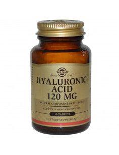 Solgar complex cu Acid Hialuronic 120 mg x 30 de tablete