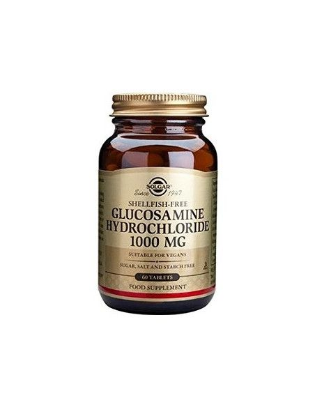 Solgar hidroclorura de glucozamina 1000 mg x 60 de tablete