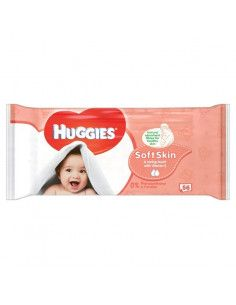 Huggies Soft Skin Servetele umede x 56 buc.
