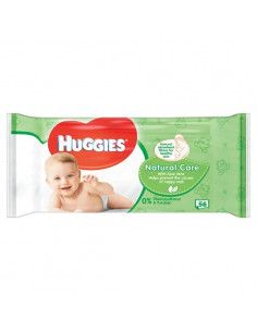 Huggies Natural Care servetele umede x 56 buc