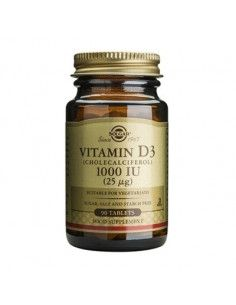 Solgar Vitamina D3 1000 UI x 90 de tablete