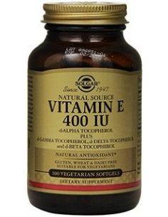 Solgar Vitamina E 268 mg (400 UI) x 50 de capsule moi