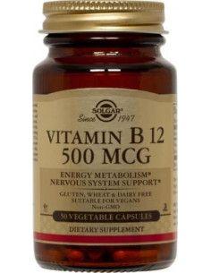 Solgar Vitamina B12 500 μg x 50 de capsule vegetale
