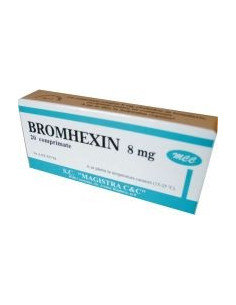 Bromhexin 8mg x 20 cp (Magistra)
