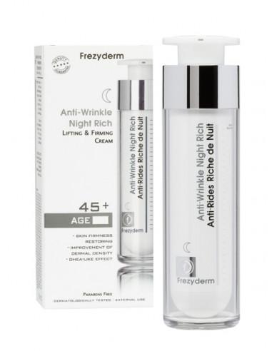 Frezyderm crema antirid de noapte Rich (45+) x 50 ml