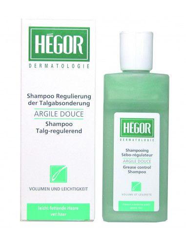 Hegor Sampon seboreglator bland cu argila, 150 ml