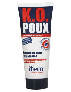 Item Gel Crema anti-paduchi K.O. Poux, 100ml