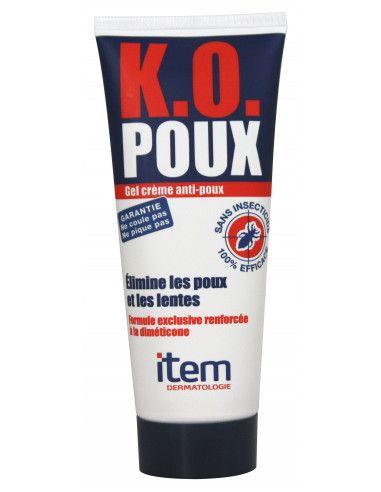 Item Gel Crema anti-paduchi K.O. Poux, 100ml