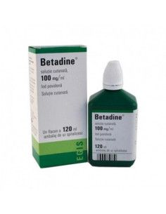 Betadine 100mg/ml x 120 ml