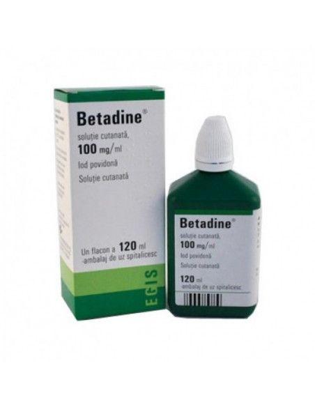 Betadine 100mg/ml x 120 ml