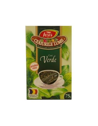Ceai verde 75g Fares