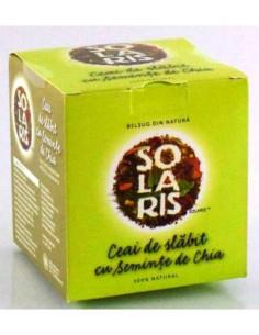 Solaris Ceai de slabit cu seminte de Chia x 20doze
